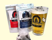Capital Teas: Tea Lager Product Design