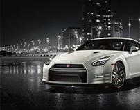 Nissan GT-R WebPage Concept
