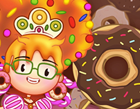 ANIMATION/REBRAND: Lady Donuts