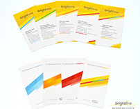 Brightline Stationery Identity