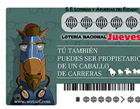Ilustraciones Lotería Nacional