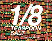 """1/8 Teaspoon Salt"""