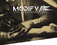 Modify Me logo branding