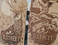 Dstreet Custom decks