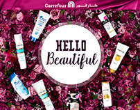 "P&G + Carrefour. ""Hello Beautiful"". Autumn 2015."