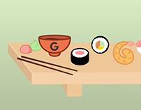 INTERNATIONAL SUSHI DAY Google Doodle