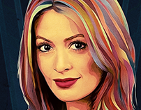 Prisma-style Portrait: Photoshop Creative