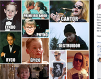Memes de Aniversário de Atores e Atrizes - Cinespaço