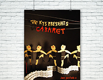 Cabaret | posters for KTS