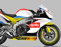Aprilia team design