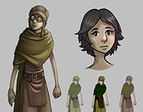 Desert Character Design