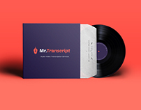 Mr.Transcript Branding & Mobile App