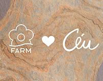 capa lookbook coleção farm+céu