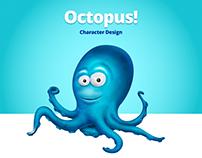 Octopus! Character Design