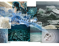 Waves & coral