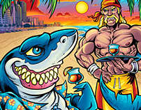 Hulk Hogan's Beach Shop Apparel