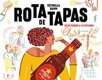 Rota De Tapas – For Estrella Damm