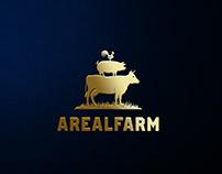 Логотип и элементы стиля для компании Arealfarm