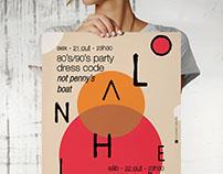 O Lanheiro Café-Bar / Party All Weekend // Poster