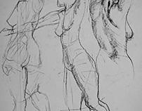 30 Nude sketch