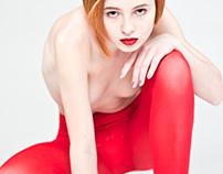 Nude Red Shoot British Higher School of Design
