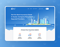 Insurance Deals Website Design