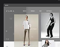 ZARA I Redesign Concept