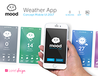 Mood - Weather Mobile UI