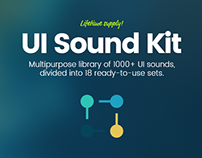 UI Sound Kit - 1000+ UI Sounds
