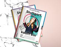 Stuttgart kauft ein |Editorial Design