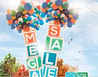 Mega Sale Flyer Template
