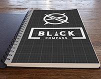 Black Compass Logo