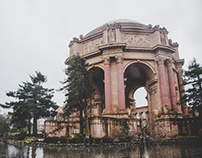 San Francisco, CA: Palace de Fine Arts