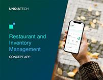 Restaurant & Inventory Management: Concept