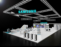 Samsung Electronics Stand @GITEX Shopper 2016