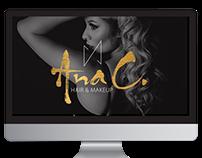 Ana C. MUA Branding