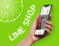 Online shop Lime