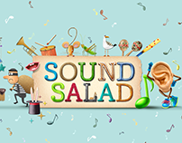 Sound Salad. Game for kids
