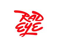 Rad eye — branding