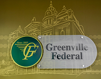 Environmental Graphic Design: Greenville Federal Bank