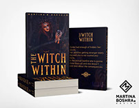 The Witch Within Book cover design