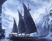Witcher 3 | Naglfar concept art