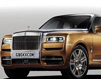 Rolls-Royce Cullinan Platina & Gold