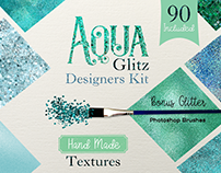 Aqua Glitz Designers kit