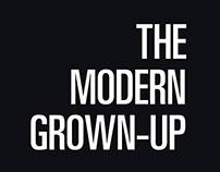 The Modern Grown Up: Book Layout Design
