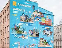 Rainbow 2017 Mural