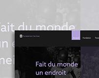Web site fondation