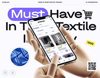 DOMLEN® — Textile Shop x E-commerce