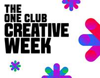 The One Club_Creative Week_2018