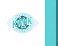 97.7 KWNK Reno - Branding